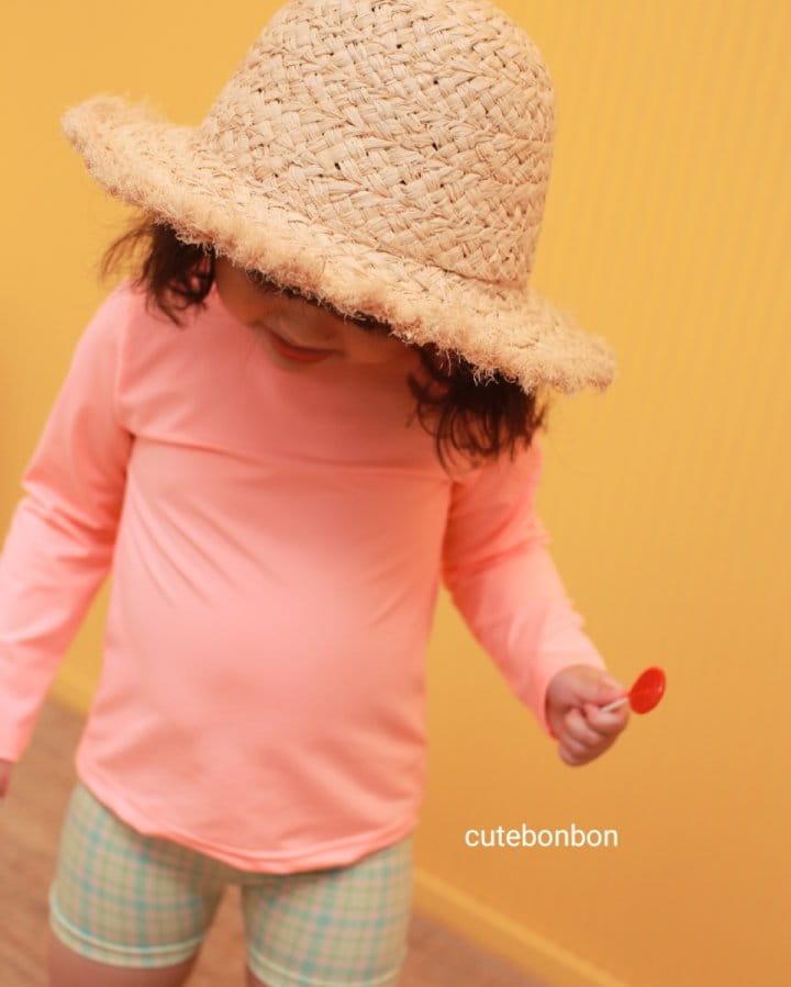 CUTEBONBON - Korean Children Fashion - #Kfashion4kids - Check Rashguard - 10