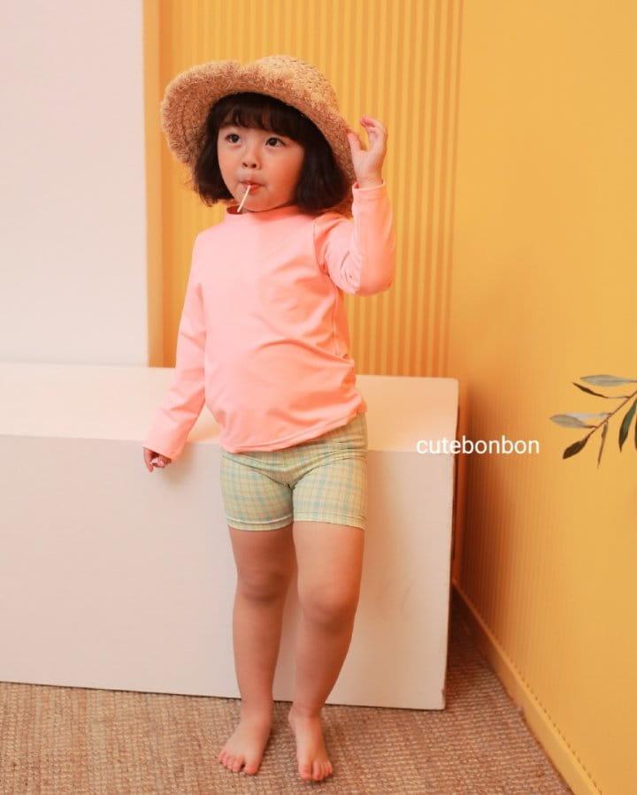 CUTEBONBON - Korean Children Fashion - #Kfashion4kids - Check Rashguard - 6