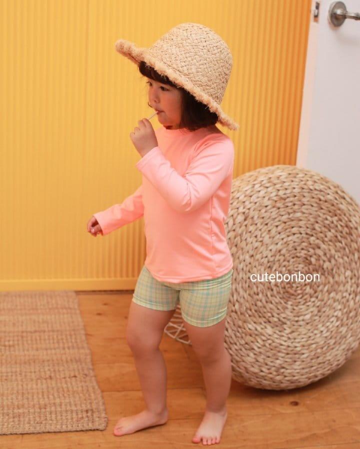 CUTEBONBON - Korean Children Fashion - #Kfashion4kids - Check Rashguard - 7