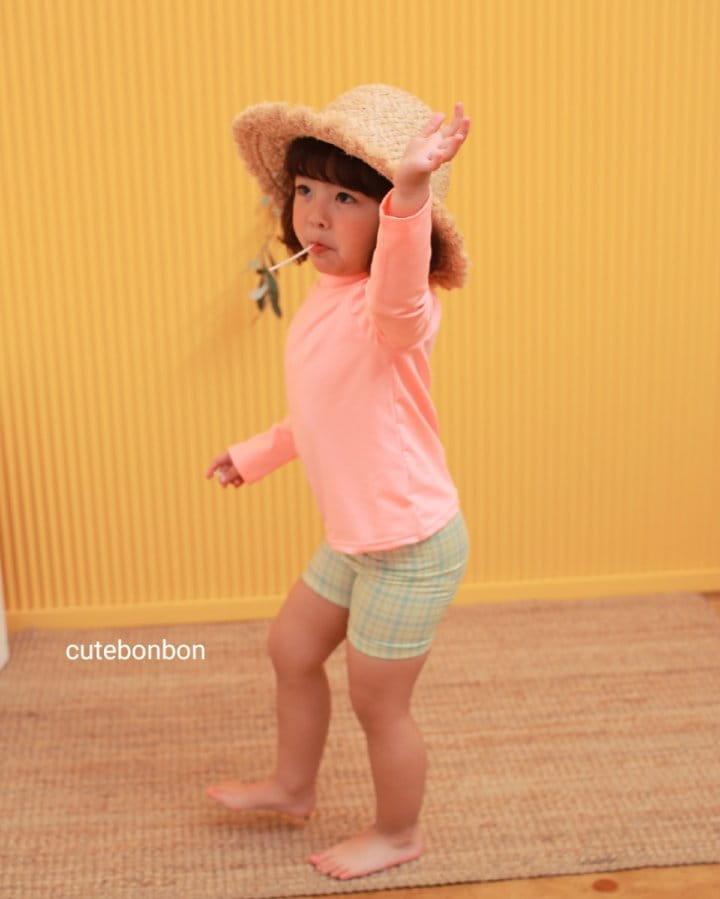 CUTEBONBON - Korean Children Fashion - #Kfashion4kids - Check Rashguard - 8