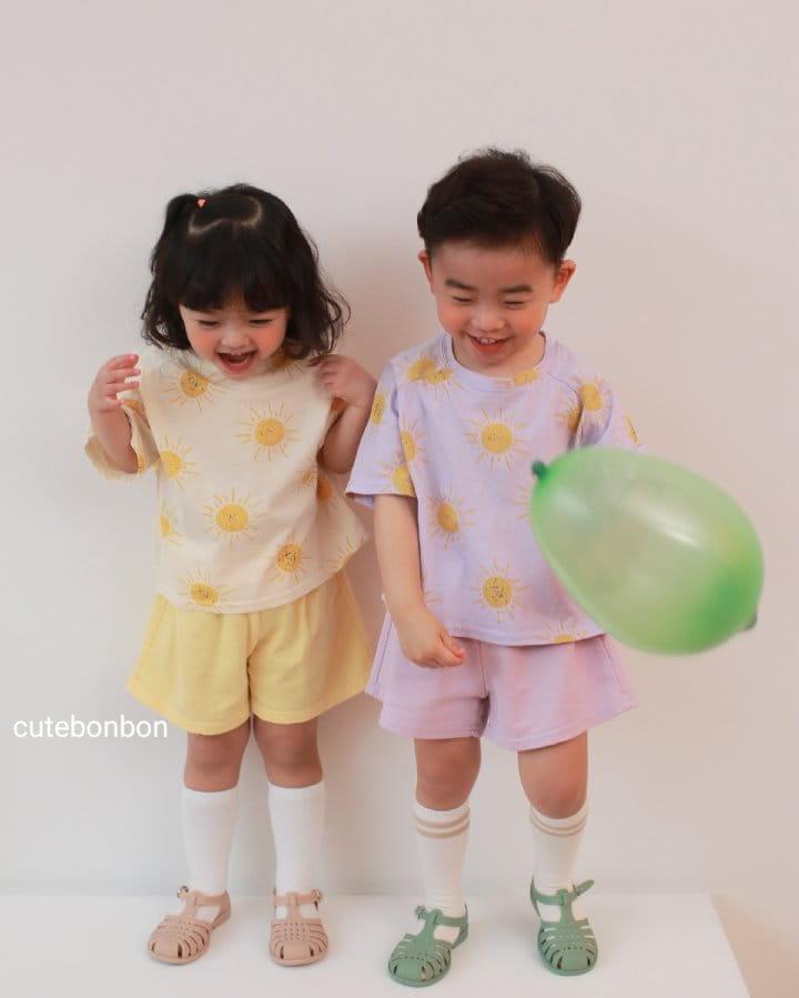 CUTEBONBON - Korean Children Fashion - #Kfashion4kids - Sunny Top Bottom Set  - 10
