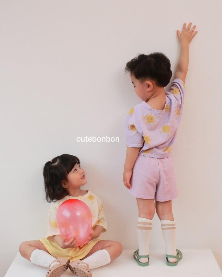 CUTEBONBON - Korean Children Fashion - #Kfashion4kids - Sunny Top Bottom Set  - 11