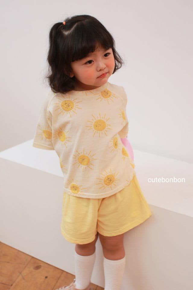 CUTEBONBON - Korean Children Fashion - #Kfashion4kids - Sunny Top Bottom Set  - 12