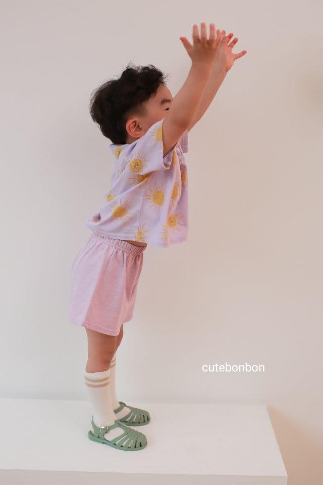 CUTEBONBON - Korean Children Fashion - #Kfashion4kids - Sunny Top Bottom Set  - 5