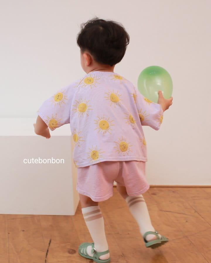 CUTEBONBON - Korean Children Fashion - #Kfashion4kids - Sunny Top Bottom Set  - 6