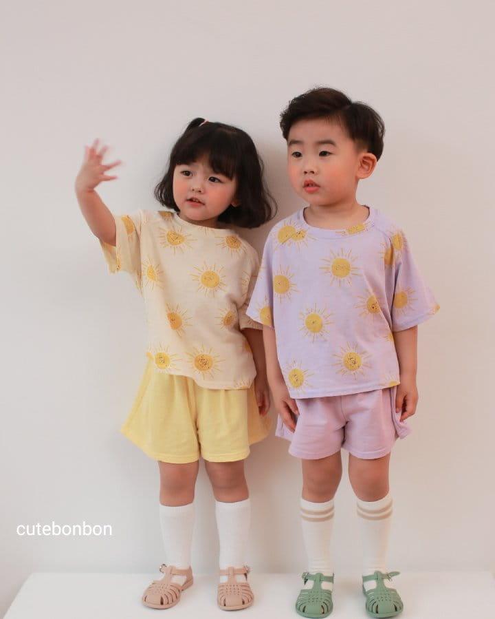 CUTEBONBON - Korean Children Fashion - #Kfashion4kids - Sunny Top Bottom Set  - 8