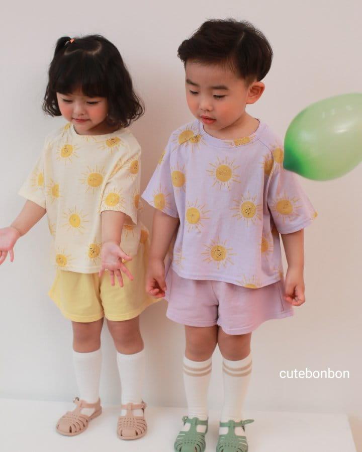 CUTEBONBON - Korean Children Fashion - #Kfashion4kids - Sunny Top Bottom Set  - 9