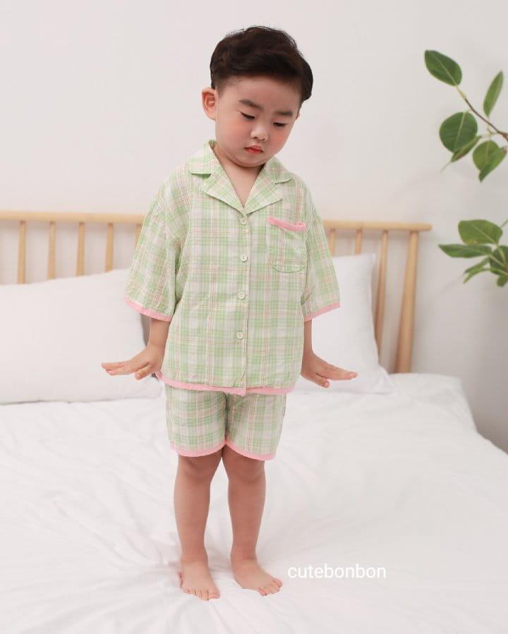 CUTEBONBON - Korean Children Fashion - #Kfashion4kids - Check 21 Pajamas - 10