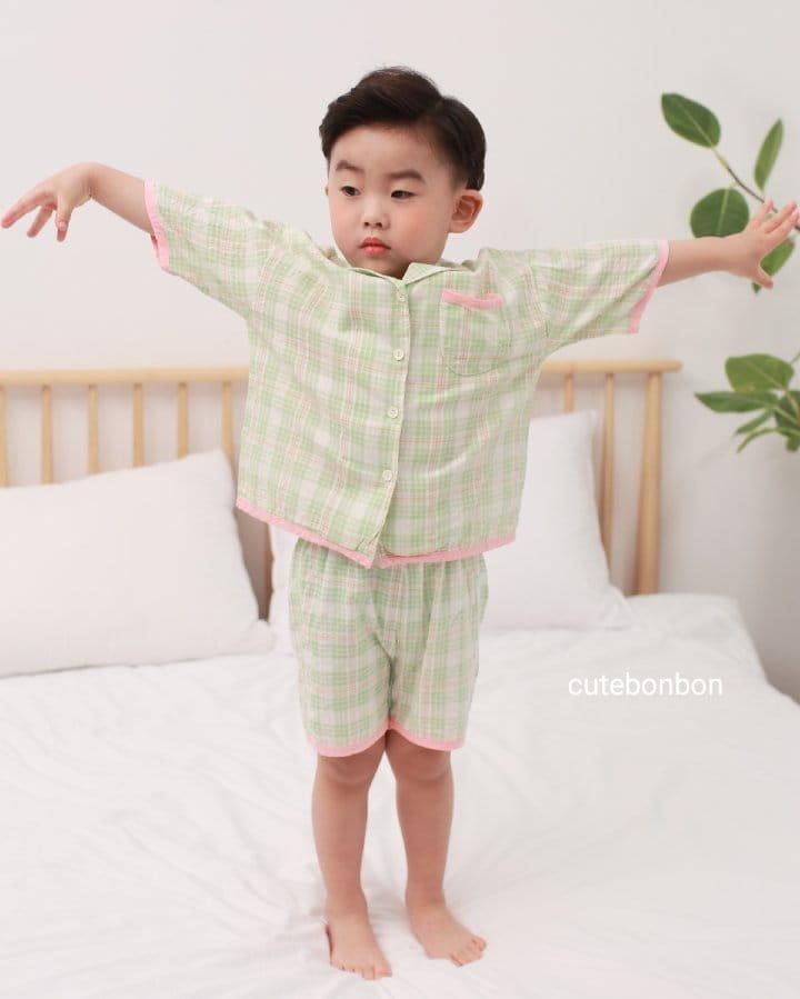 CUTEBONBON - Korean Children Fashion - #Kfashion4kids - Check 21 Pajamas - 11
