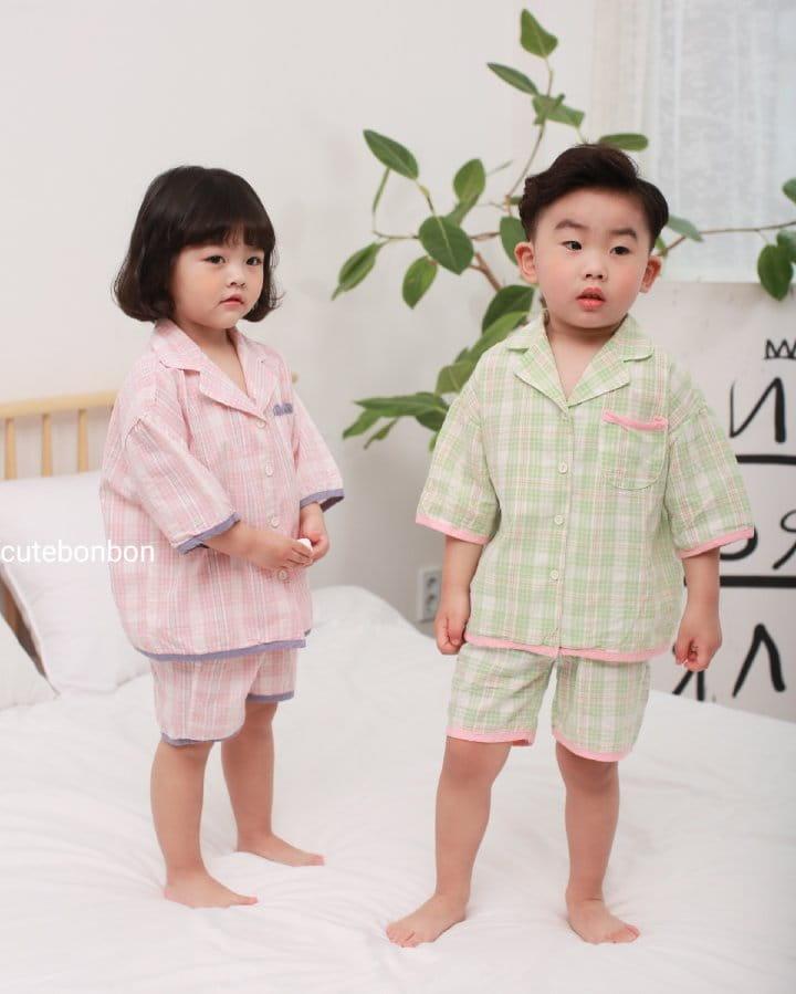 CUTEBONBON - Korean Children Fashion - #Kfashion4kids - Check 21 Pajamas - 12