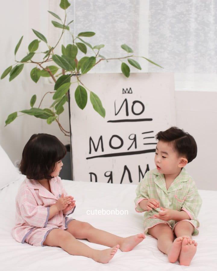 CUTEBONBON - Korean Children Fashion - #Kfashion4kids - Check 21 Pajamas - 3