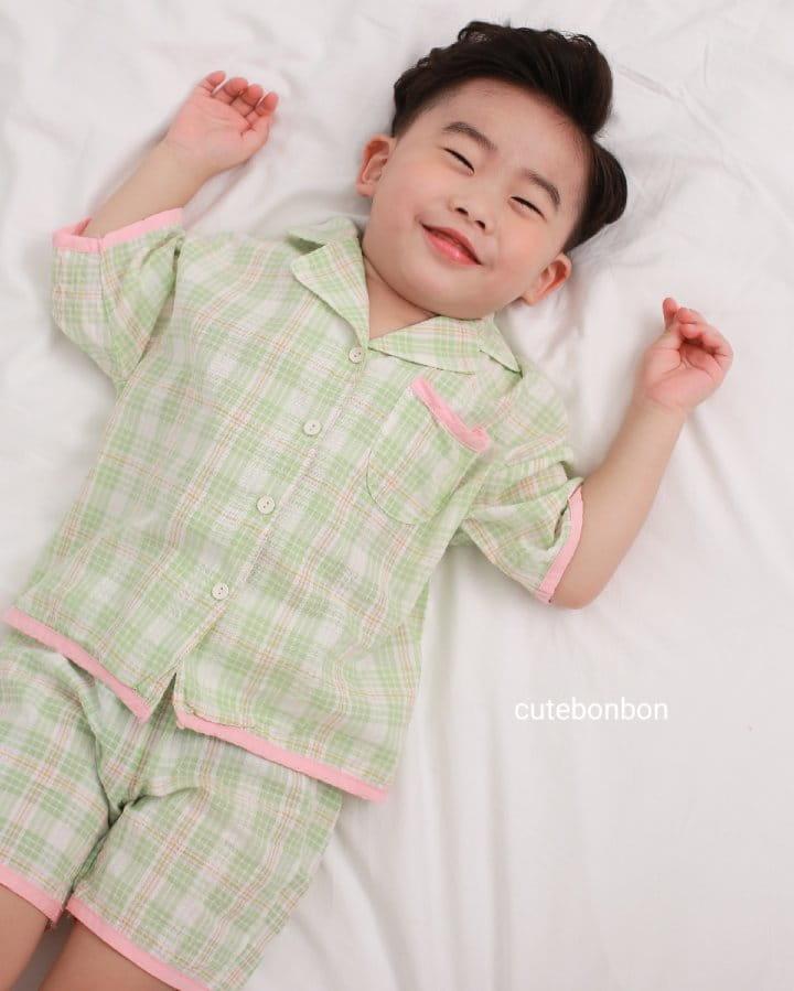 CUTEBONBON - Korean Children Fashion - #Kfashion4kids - Check 21 Pajamas - 5