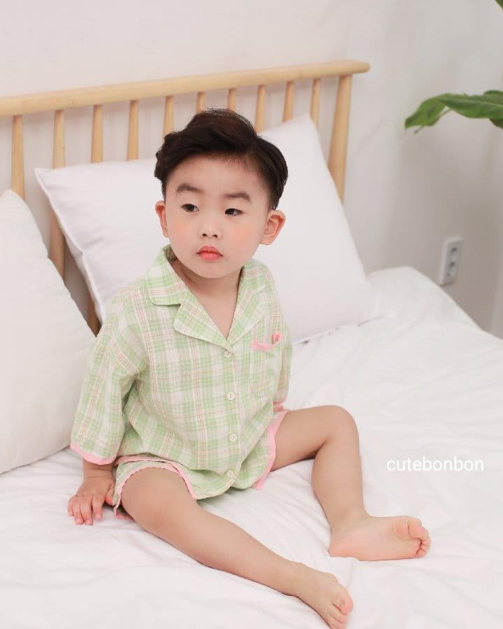 CUTEBONBON - Korean Children Fashion - #Kfashion4kids - Check 21 Pajamas - 6