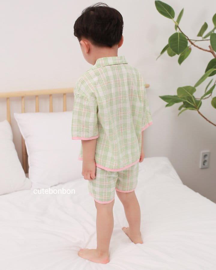 CUTEBONBON - Korean Children Fashion - #Kfashion4kids - Check 21 Pajamas - 7