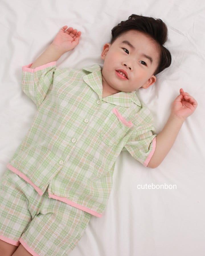 CUTEBONBON - Korean Children Fashion - #Kfashion4kids - Check 21 Pajamas - 8