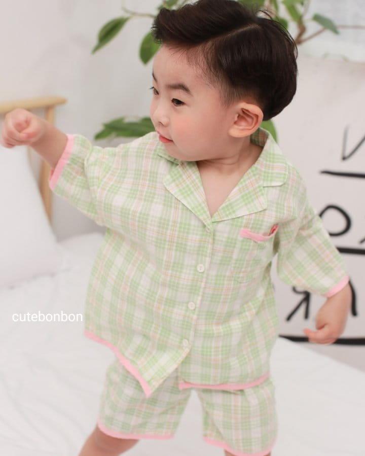 CUTEBONBON - Korean Children Fashion - #Kfashion4kids - Check 21 Pajamas - 9