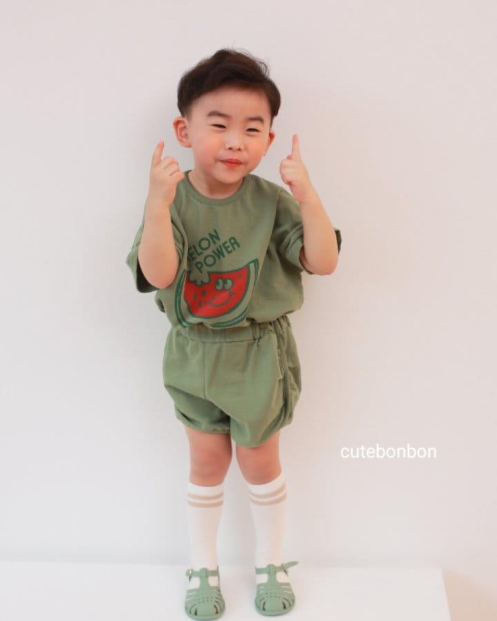 CUTEBONBON - Korean Children Fashion - #Kfashion4kids - Watermelon Top Bottom Set - 10