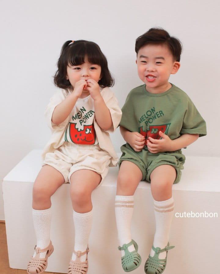 CUTEBONBON - Korean Children Fashion - #Kfashion4kids - Watermelon Top Bottom Set - 11