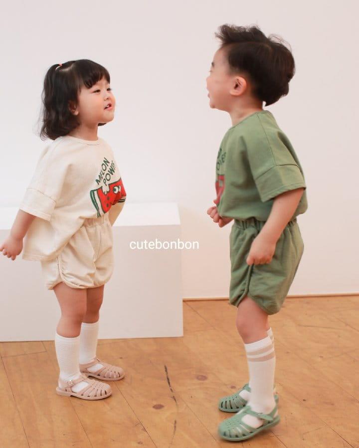 CUTEBONBON - Korean Children Fashion - #Kfashion4kids - Watermelon Top Bottom Set - 12