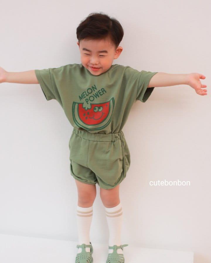 CUTEBONBON - Korean Children Fashion - #Kfashion4kids - Watermelon Top Bottom Set - 3