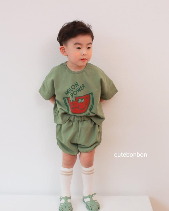 CUTEBONBON - Korean Children Fashion - #Kfashion4kids - Watermelon Top Bottom Set - 6