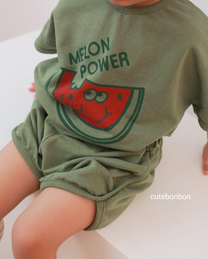 CUTEBONBON - Korean Children Fashion - #Kfashion4kids - Watermelon Top Bottom Set - 7