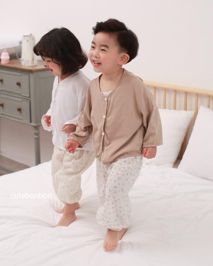 CUTEBONBON - Korean Children Fashion - #Kfashion4kids - Linen Cardigan - 10