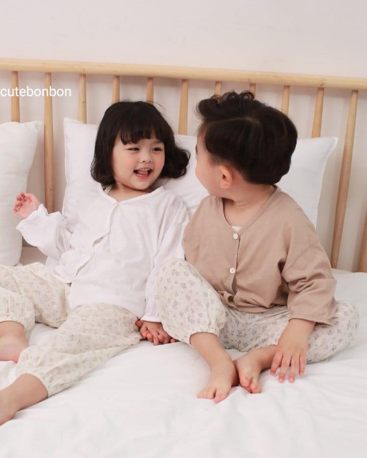 CUTEBONBON - Korean Children Fashion - #Kfashion4kids - Linen Cardigan - 3