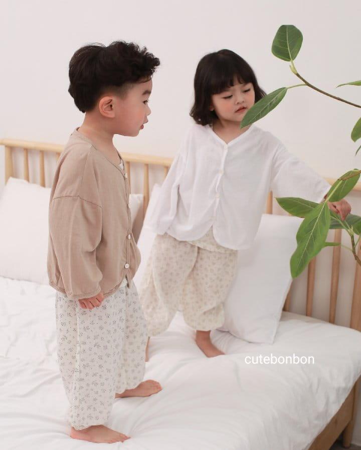 CUTEBONBON - Korean Children Fashion - #Kfashion4kids - Linen Cardigan - 4