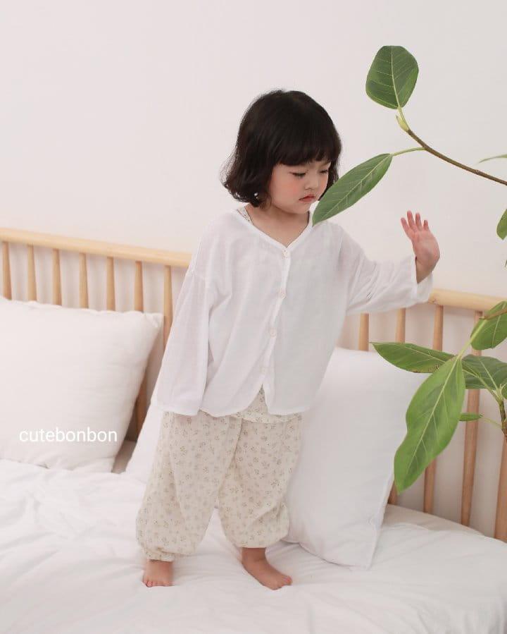 CUTEBONBON - Korean Children Fashion - #Kfashion4kids - Linen Cardigan - 5