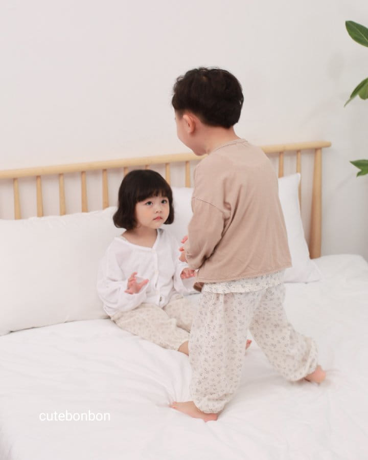 CUTEBONBON - Korean Children Fashion - #Kfashion4kids - Linen Cardigan - 8