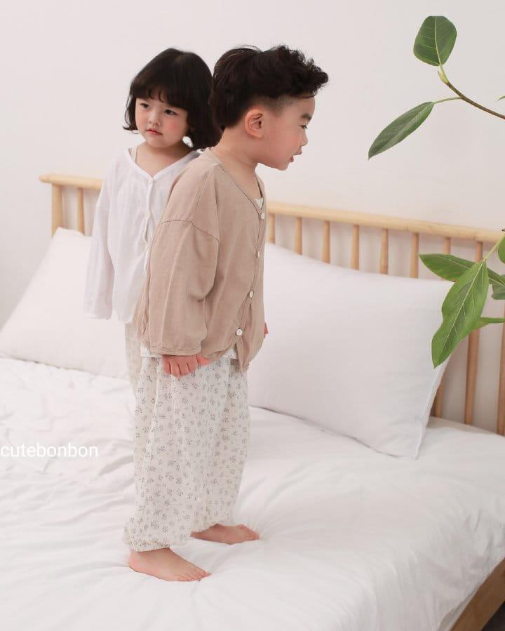 CUTEBONBON - Korean Children Fashion - #Kfashion4kids - Linen Cardigan - 9