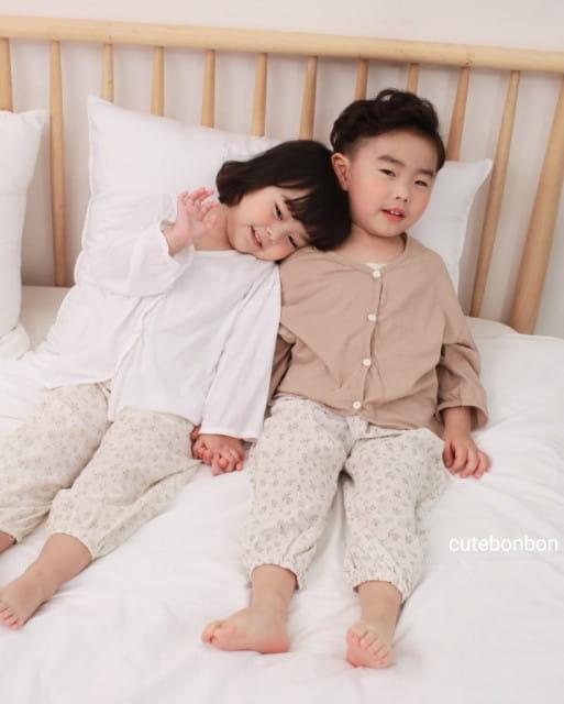 CUTEBONBON - BRAND - Korean Children Fashion - #Kfashion4kids - Linen Cardigan