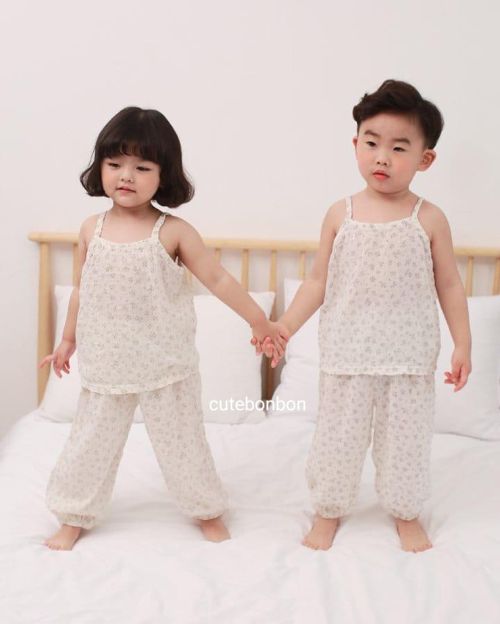 CUTEBONBON - Korean Children Fashion - #Kfashion4kids - String Top Loose Drawer Set - 10