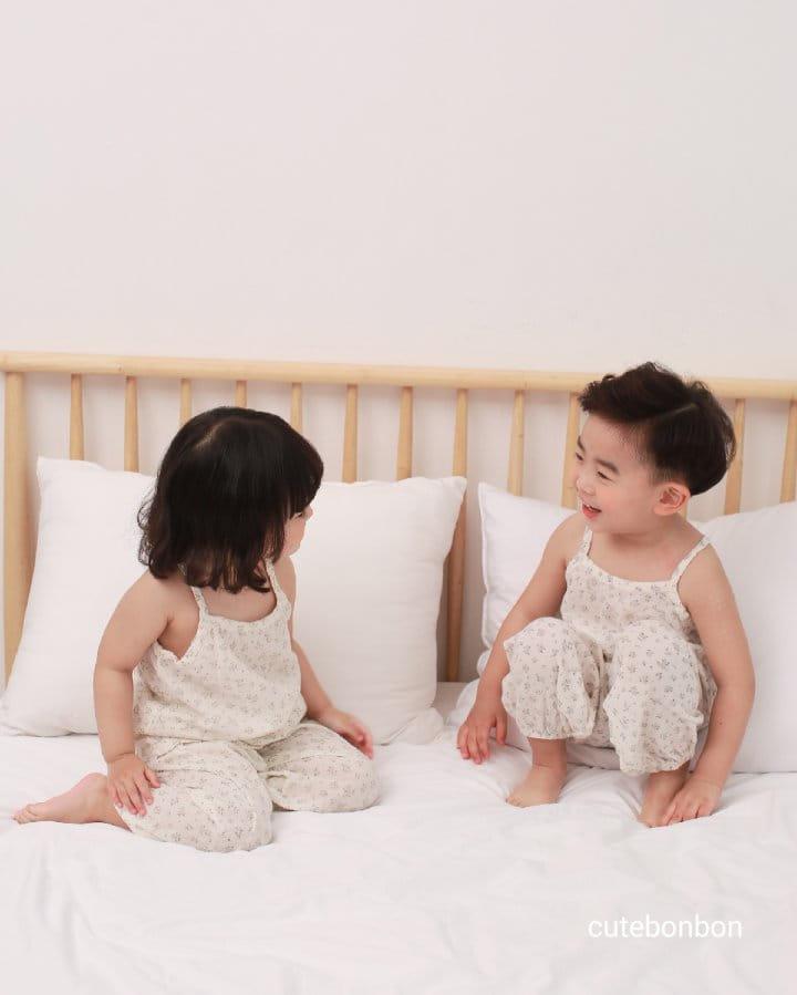 CUTEBONBON - Korean Children Fashion - #Kfashion4kids - String Top Loose Drawer Set - 11