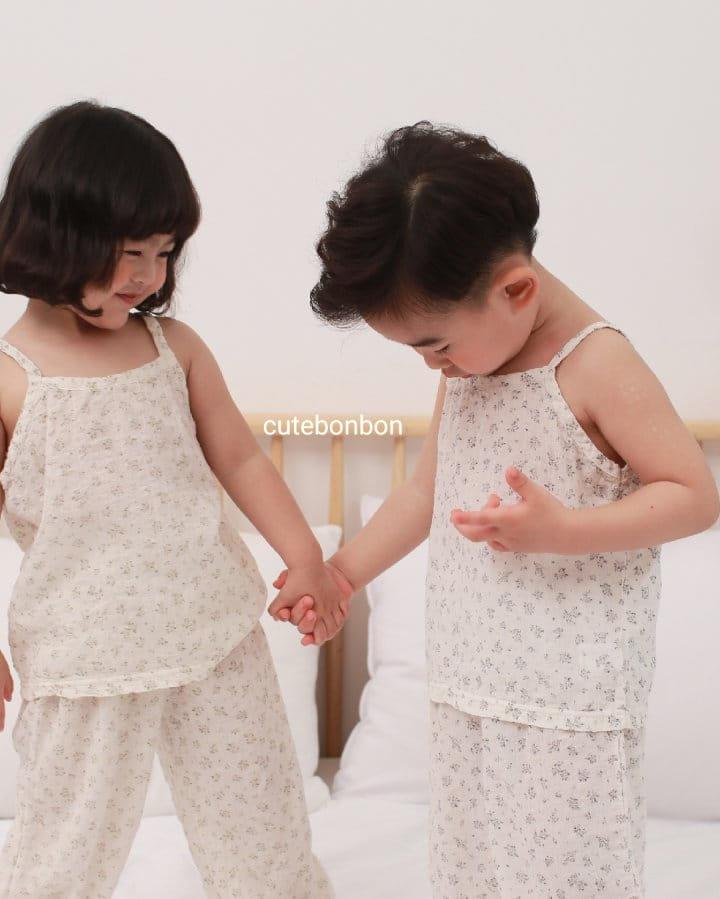 CUTEBONBON - Korean Children Fashion - #Kfashion4kids - String Top Loose Drawer Set - 5