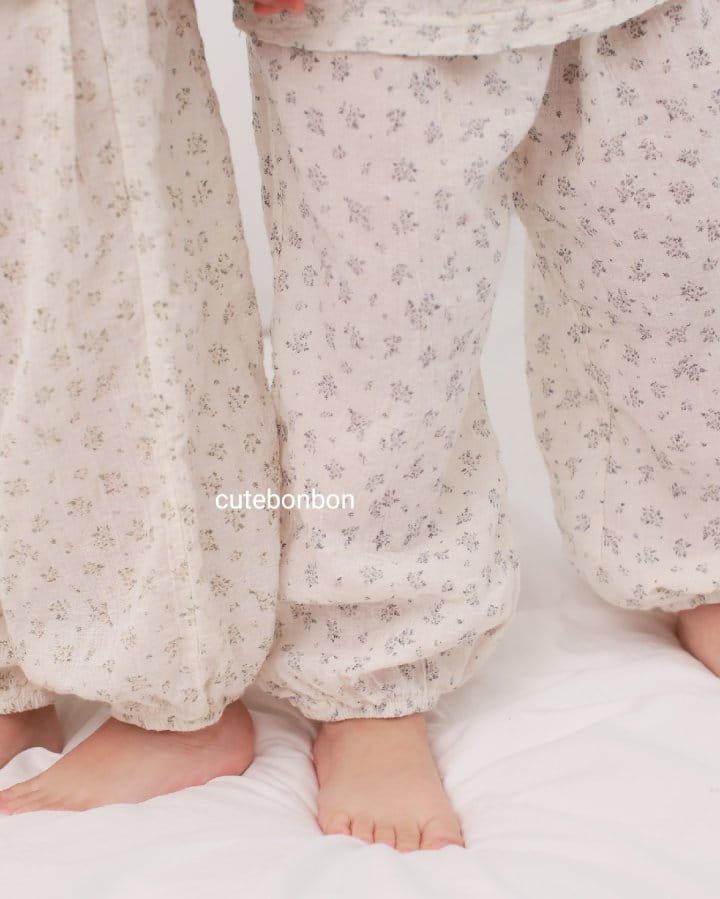 CUTEBONBON - Korean Children Fashion - #Kfashion4kids - String Top Loose Drawer Set - 7