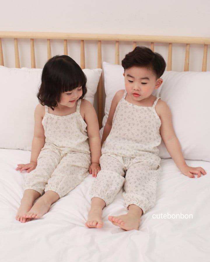 CUTEBONBON - Korean Children Fashion - #Kfashion4kids - String Top Loose Drawer Set - 8