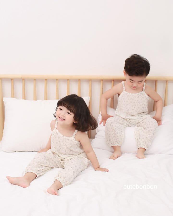 CUTEBONBON - Korean Children Fashion - #Kfashion4kids - String Top Loose Drawer Set - 9