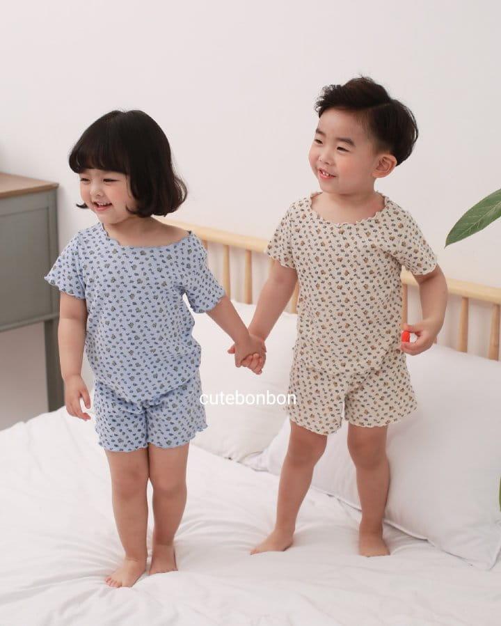 CUTEBONBON - Korean Children Fashion - #Kfashion4kids - Wave Pajamas - 11