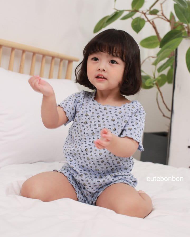 CUTEBONBON - Korean Children Fashion - #Kfashion4kids - Wave Pajamas - 3