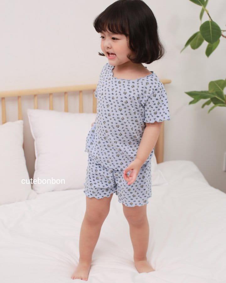 CUTEBONBON - Korean Children Fashion - #Kfashion4kids - Wave Pajamas - 4