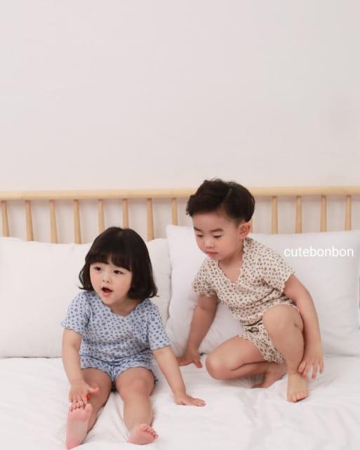 CUTEBONBON - BRAND - Korean Children Fashion - #Kfashion4kids - Wave Pajamas