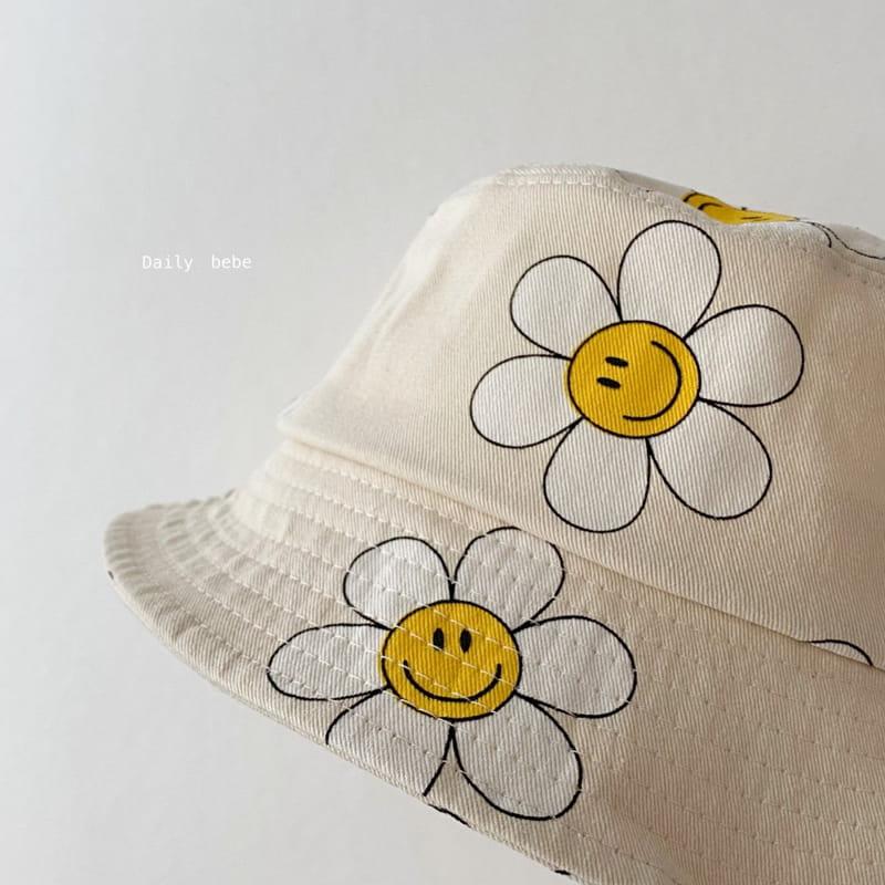 DAILY BEBE - Korean Children Fashion - #Kfashion4kids - Pattern Bucket Hat - 3