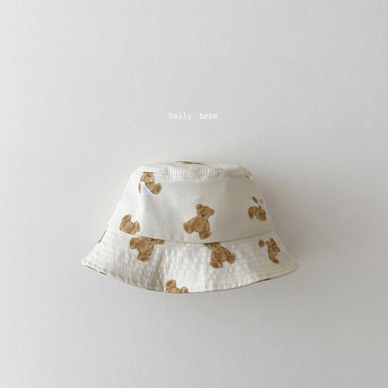 DAILY BEBE - Korean Children Fashion - #Kfashion4kids - Pattern Bucket Hat - 4
