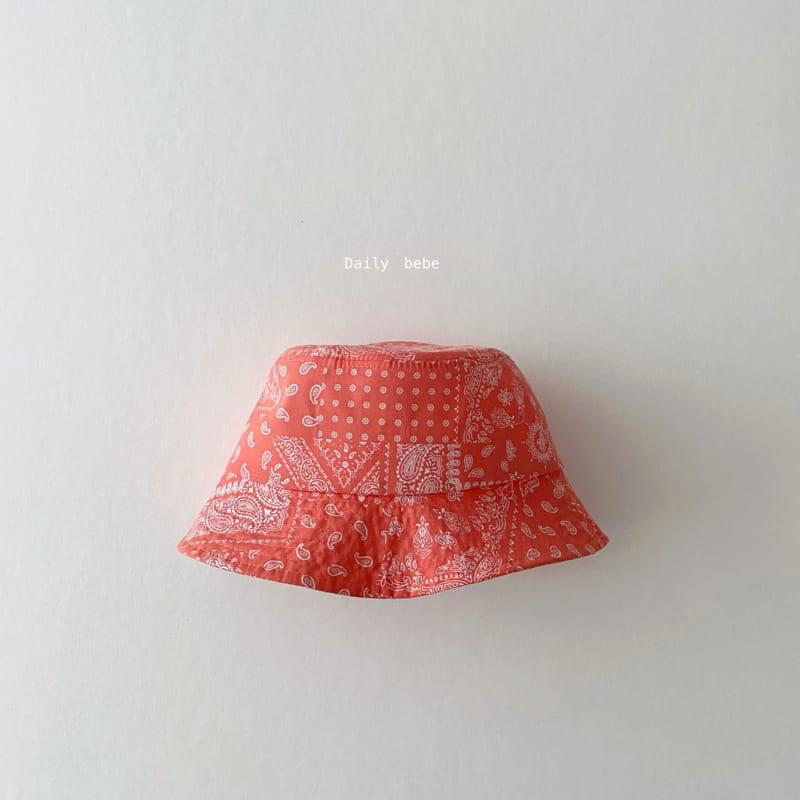 DAILY BEBE - Korean Children Fashion - #Kfashion4kids - Pattern Bucket Hat - 6