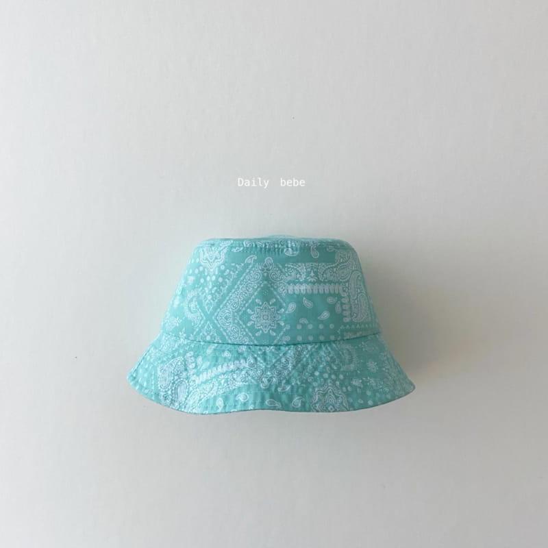 DAILY BEBE - Korean Children Fashion - #Kfashion4kids - Pattern Bucket Hat - 8