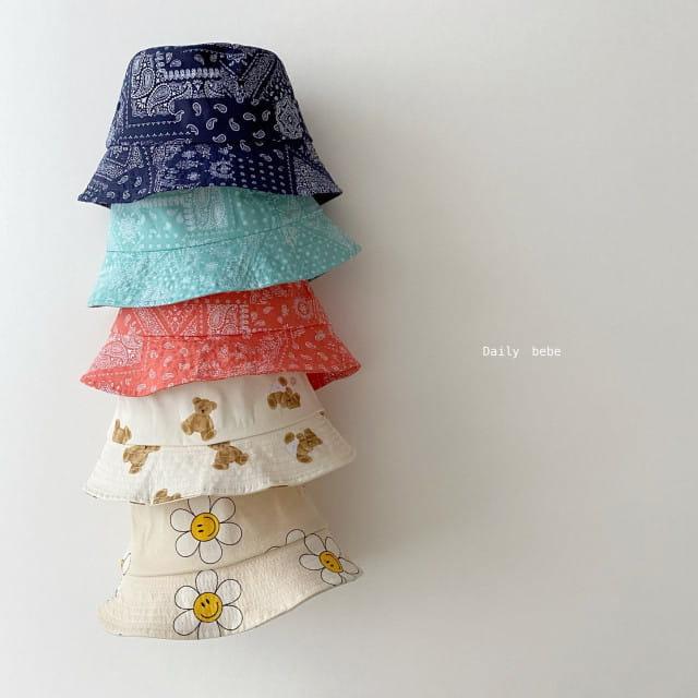 DAILY BEBE - BRAND - Korean Children Fashion - #Kfashion4kids - Pattern Bucket Hat