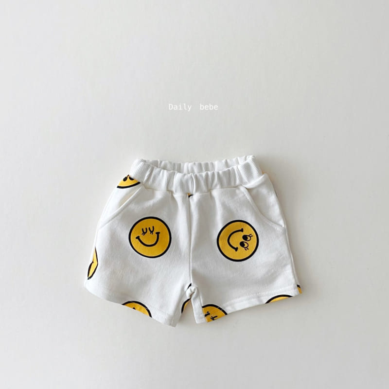 DAILY BEBE - Korean Children Fashion - #Kfashion4kids - Smile Top Bottom Set - 6