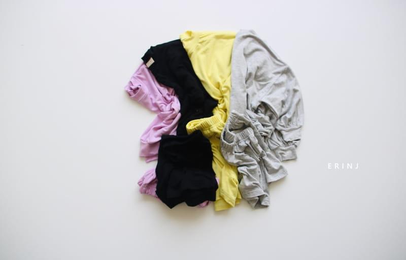 ERIN J - BRAND - Korean Children Fashion - #Kfashion4kids - Cool Top Bottom Set